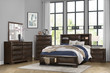 Homelegance Chesky Collection Platform Bed in Espresso; Lifestyle