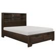 Homelegance Chesky Collection Platform Bed in Espresso