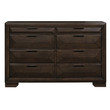 Homelegance Chesky Collection Dresser; Front View