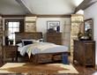 Homelegance Jerrick Collection 4-Piece Bedroom Set in Burnished Brown
