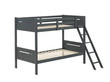 Coaster Littleton Twin/Twin Bunk Bed in Grey