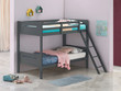 Coaster Littleton Twin/Twin Bunk Bed in Grey; Lifestyle