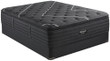 Simmons Beautyrest Black Special Edition Natasha II Plush Pillow Top Mattress; with Box Spring Foundation