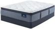 Serta Perfect Sleeper Sapphire Canyon Plush Pillow Top Mattress; Box Spring