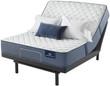 Serta Perfect Sleeper Cobalt Coast Firm Mattress; with Adjustable Bed