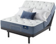 Serta Perfect Sleeper Cobalt Coast Plush Mattress; with Adjustable Bed