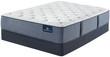 Serta Perfect Sleeper Cobalt Coast Plush Mattress; with Box Spring