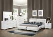 Coaster Felicity 4-Piece Bedroom Set in White