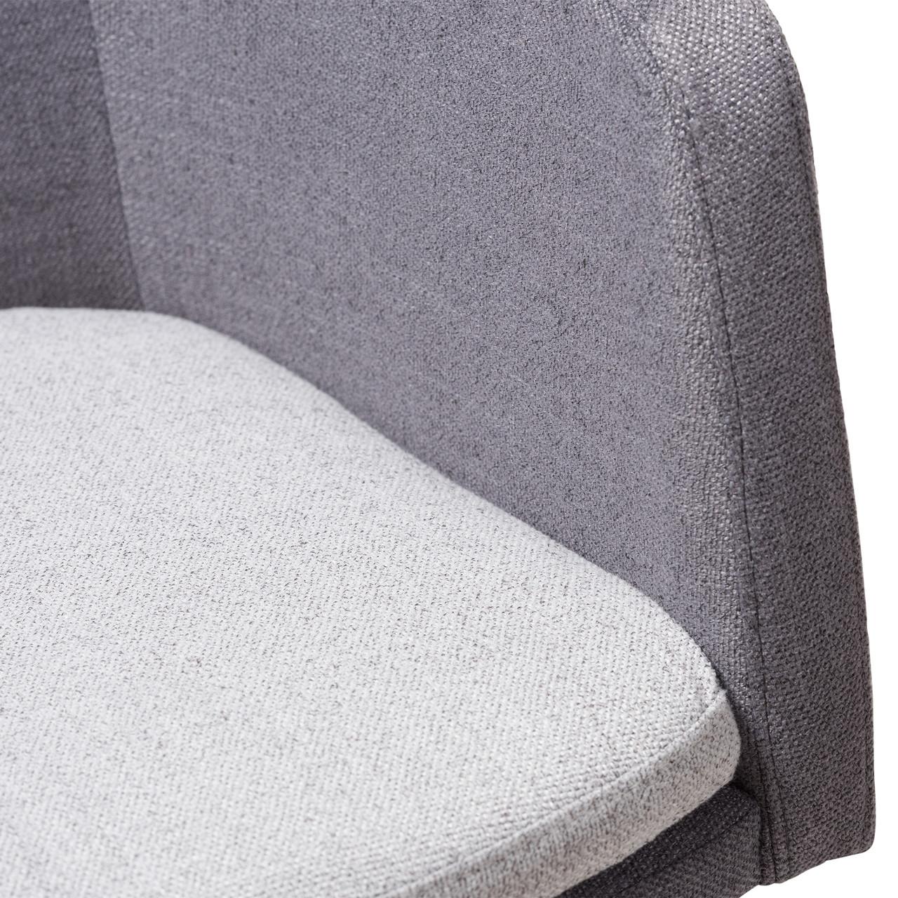 Baxton Studio Vera Mid Century Modern 3 Piece Lounge Chair