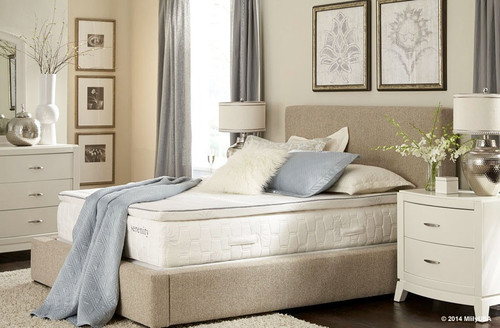 Mlily Serenity Pillow Top Memory Foam Mattress