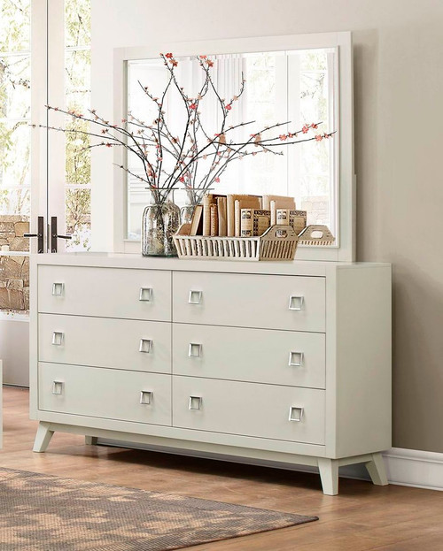 Homelegance Valpico Light Gray Casual Contemporary Dresser