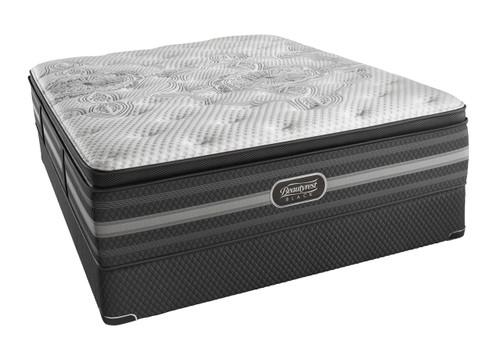 Simmons Beautyrest Black Katarina Plush Pillow Top Mattress Set