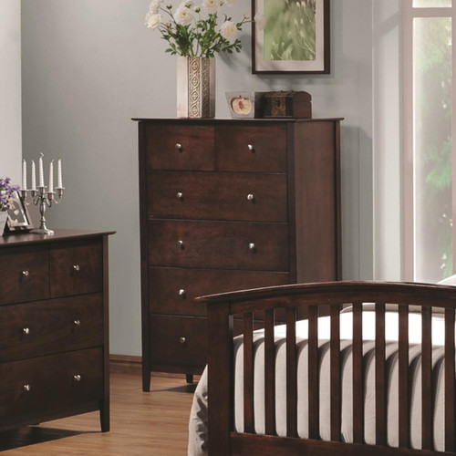Coaster Tia Vertical Chest with 5 Drawers