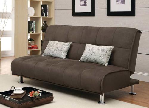 Coaster Paradox Sofa Bed in Brown