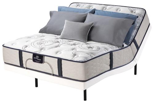 Serta Perfect Sleeper Sunset Peak Plush Motion Essentials II Adjustable Bed Set