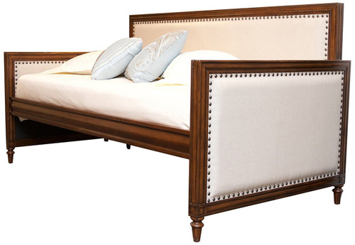 Fashion Bed Group Grandover Wood Upholstered Daybed Espresso