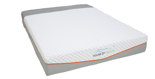 "House of Nature 10"" Gel Memory Foam Mattress"