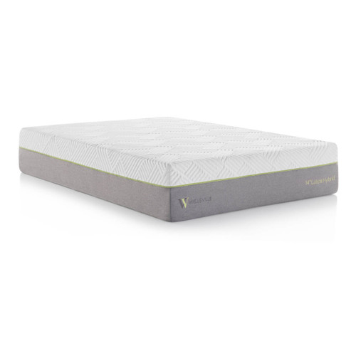 "Wellsville 14"" Latex Hybrid Mattress 1"