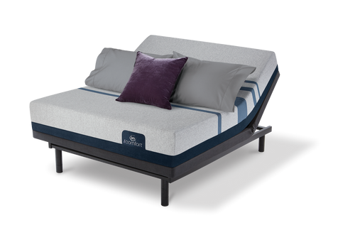Serta iComfort Blue 100 Gentle Firm Mattress with Motion Essentials III Adjustable Bed Base