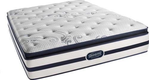 Simmons Beautyrest Recharge Glimmer Luxury Firm Pillow Top Mattress