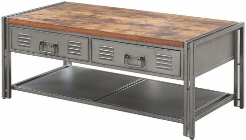 Coaster Costello Industrial Coffee Table