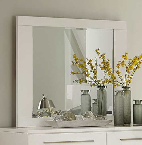 Homelegance Linnea Collection Mirror in White