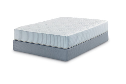 Restonic Scott Living Repose Plush Latex Mattress Right