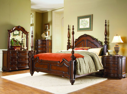 Homelegance Prenzo Collection 4 Piece Bedroom Set