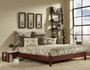 Fashion Bed Group Murray Platform Bed Mahogany