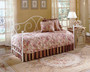 Fashion Bed Group Caroline Daybed in White with Link Spring
