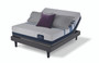 Serta iComfort Blue 300 Firm Mattress with Motion Perfect III Adjustable Bed Set