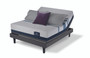 Serta iComfort Blue 500 Plush Mattress with Motion Perfect III Adjustable Bed Set