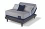 Serta iComfort Blue Max 3000 Elite Plush Mattress with Motion Perfect III Adjustable Bed Set