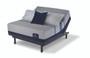 Serta iComfort Blue Max 3000 Elite Plush Mattress with Motion Essentials III Adjustable Bed Set