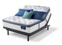 Serta Perfect Sleeper Elite Super Pillow Top with Motion Essentials III Adjustable Bed Set