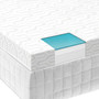 "Malouf Isolus 2.5"" Liquid Gel Memory Foam Mattress Topper"