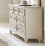 Homelegance Celandine Collection Dresser in Silver