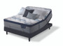 Serta iComfort Hybrid Blue Fusion 300 Plush Pillow Top Mattress with Adjustable