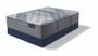 Serta iComfort Hybrid Blue Fusion 3000 Plush Mattress with Boxspring
