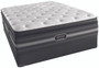 Simmons Beautyrest Black Christabel Luxury Firm Pillow Top Mattress with Foundation
