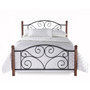 Fashion Bed Group Doral Panel Bed front white background