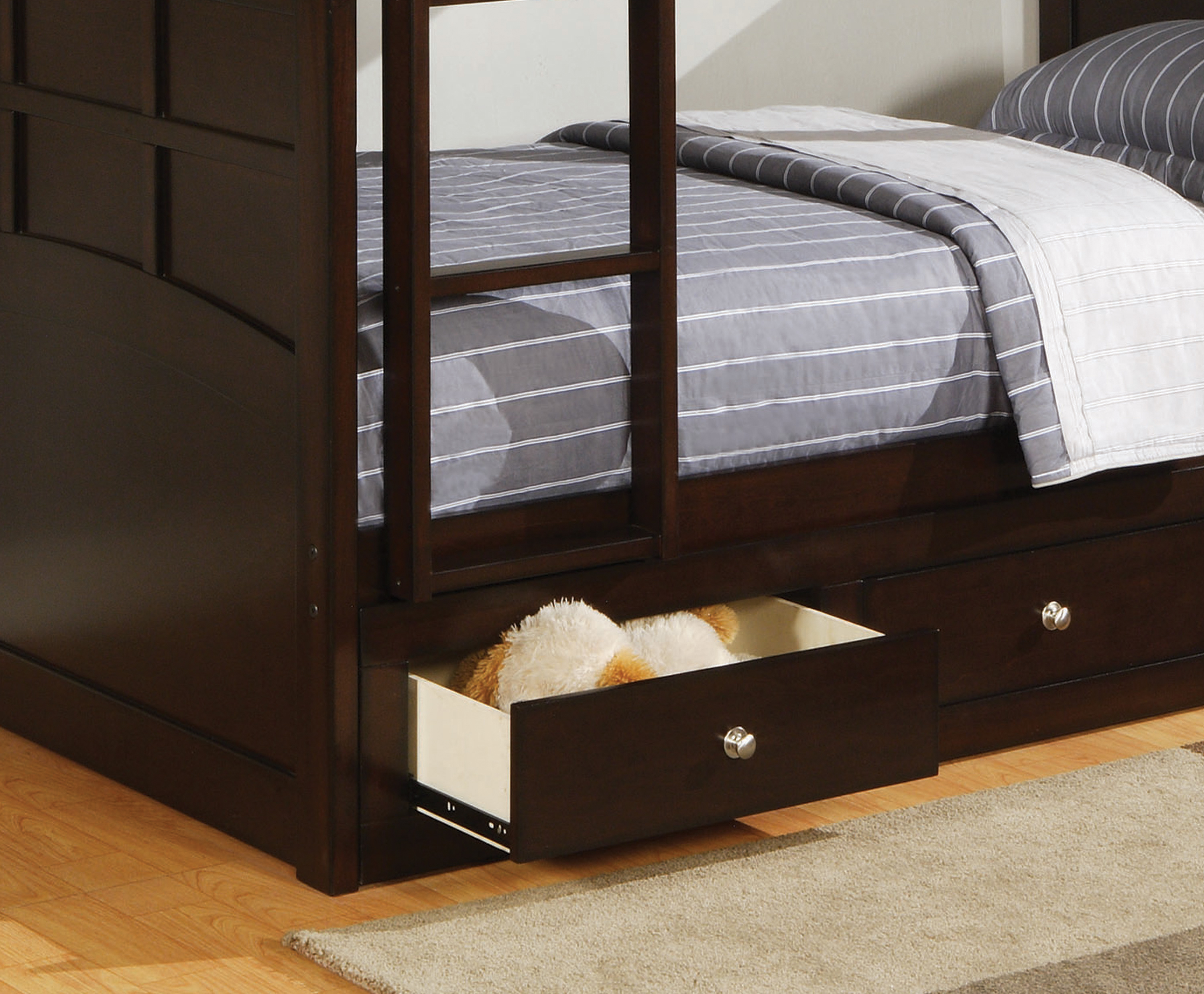 Image result for bunk bed with drawers