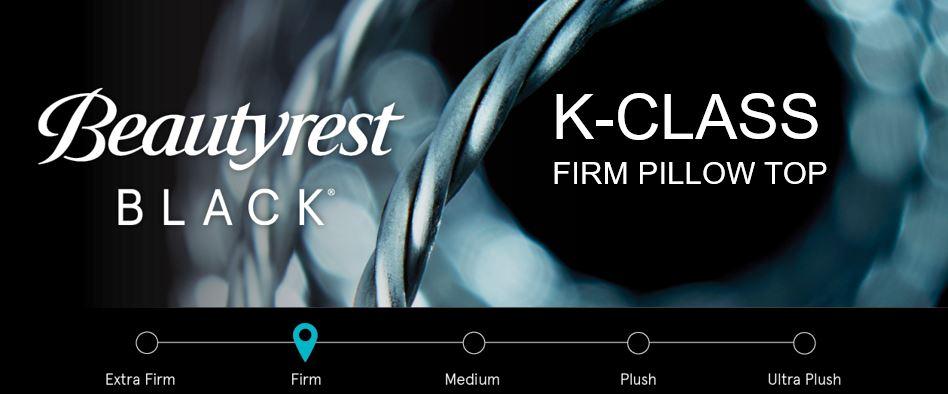 K-Class Firm Pillow Top Comfort Rating