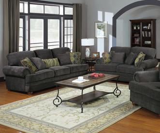 Coaster Colton Sofa Smokey Grey Dealbeds Com