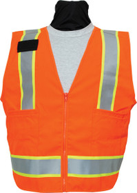 SECO Safety Utility Vest- Flo Orange or Flo Yellow 8292
