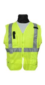 SECO Economy Safety Vest - Flo Yellow and Flo Orange 8290