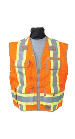 SECO 8260 U.S. and Canadian Dual Standard Safety Utility Vest