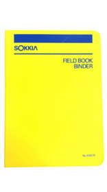 Sokkia Binder Field Book (Polyethylene) 815379