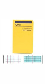 Sokkia Engineers Field Book (4-1/2 x 7-1/4 in.) 815230