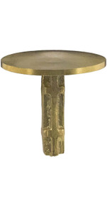 Survey Markers Brass Flat